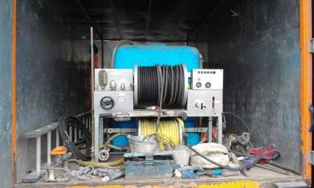 гидродинамическая установка высокого давления
